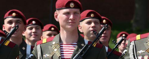 Военная служба по призыву в Росгвардии
